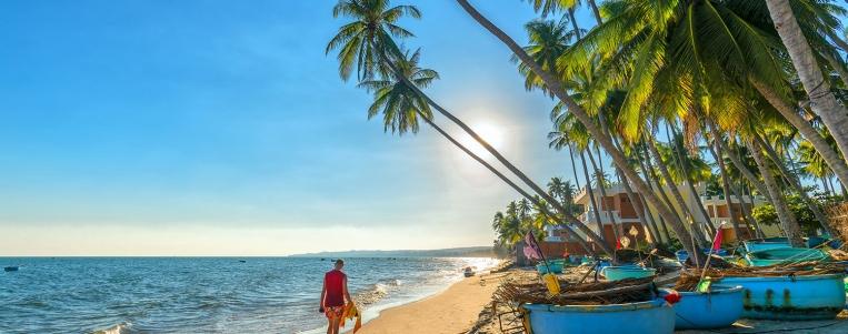 The beach of Mui Ne