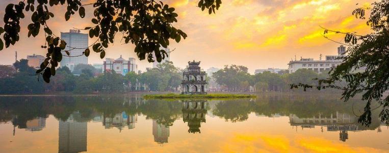Hanoi and surrounding area